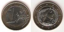 Каталог монет - монета  Латвия 1 евро