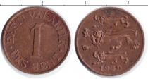 Каталог монет - монета  Эстония 1 сенти