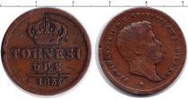 Каталог монет - монета  Сицилия 2 торнеси