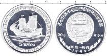 Каталог монет - монета  Южная Корея 5 вон