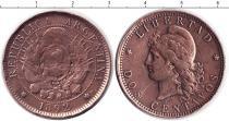 Каталог монет - монета  Аргентина 2 сентаво