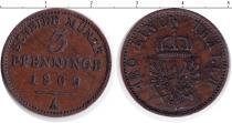 Каталог монет - монета  Пруссия 3 крейцера