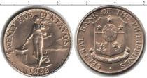 Каталог монет - монета  Филиппины 25 сентаво