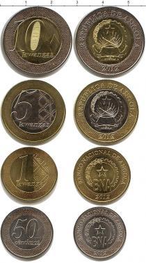 Каталог - подарочный набор  Ангола Ангола 2012