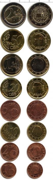 Каталог - подарочный набор  Бельгия Евронабор 2002-2008