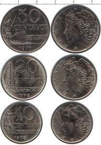 Каталог - подарочный набор  Бразилия Бразилия 1975-1978