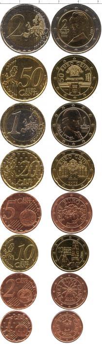 Каталог - подарочный набор  Австрия Евронабор 2002-2003 гг,