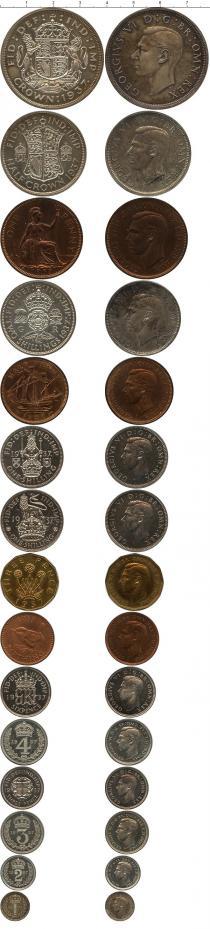 Каталог - подарочный набор  Великобритания Выпуск 1937 года