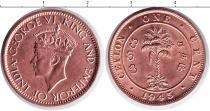 Каталог монет - монета  Ямайка 1 цент