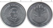 Каталог монет - монета  Бангладеш 2 така
