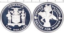 Каталог монет - монета  Ямайка 10 франков