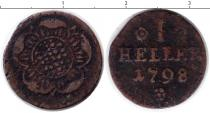 Каталог монет - монета  Липпе-Детмольд 1 геллер
