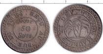 Каталог монет - монета  Маврикий 50 су