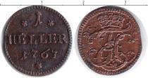 Каталог монет - монета  Пруссия 1 хеллер
