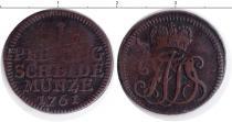 Каталог монет - монета  Саксен-Веймар-Эйзенах 1 пфенниг
