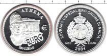 Каталог монет - монета  Мальтийский орден 500 лир