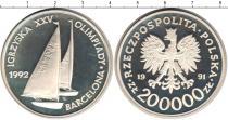 Каталог монет - монета  Польша 200000 злотых