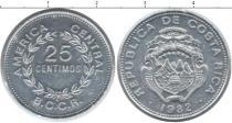 Каталог монет - монета  Коста-Рика 25 сентим