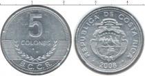 Каталог монет - монета  Коста-Рика 5 колон