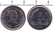 Каталог монет - монета  Уругвай 50 сентесим