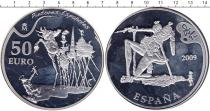 Каталог монет - монета  Испания 50 евро