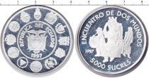 Каталог монет - монета  Эквадор 5000 сукре