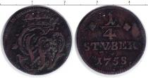 Каталог монет - монета  Вайд-Рункель 1/4 стюбера