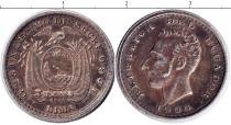 Каталог монет - монета  Эквадор 1 десим