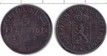 Каталог монет - монета  Рейсс 3 пфеннига
