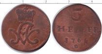 Каталог монет - монета  Саксен-Майнинген 3 геллера