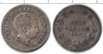 Каталог монет - монета  Баден 10 крейцеров