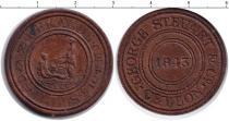 Каталог монет - монета  Цейлон 1/2 пенни