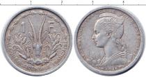 Каталог монет - монета  Французская Западная Африка 1 франк