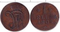Каталог монет - монета  Гессен-Кассель 1 хеллер
