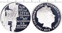 Каталог монет - монета  Карибы 5 долларов