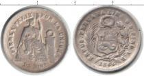 Каталог монет - монета  Перу 1 динер