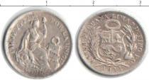 Каталог монет - монета  Перу 1/2 динеро