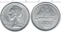 Каталог монет - монета  Сен-Пьер и Микелон 1 франк