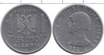 Каталог монет - монета  Албания 05 лек