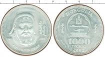 Каталог монет - монета  Монголия 1000 тугриков
