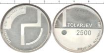 Каталог монет - монета  Словения 2500 толаров