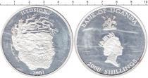 Каталог монет - монета  Уганда 2000 шиллингов