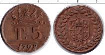 Каталог монет - монета  Италия 5 торнеси