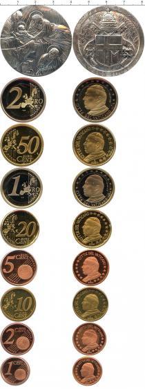 Каталог - подарочный набор  Ватикан Евровыпуск 2004 года
