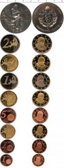 Каталог - подарочный набор  Ватикан Евровыпуск 2008 года