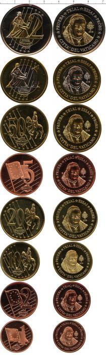 Каталог - подарочный набор  Ватикан Пробный евронабор 2008