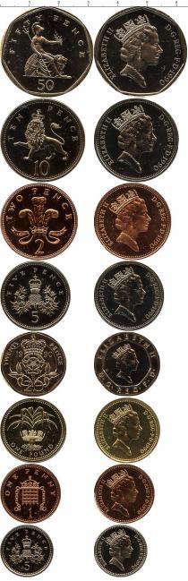 Каталог - подарочный набор  Великобритания Регулярный выпуск 1990 года