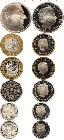 Каталог - подарочный набор  Великобритания Выпуск монет в качестве пруф 2011