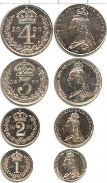 Каталог - подарочный набор  Великобритания Маунди-сет 1890 (Благотворительный набор)