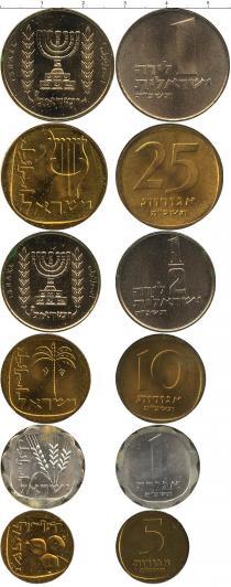 Каталог - подарочный набор  Израиль Выпуск монет 1965